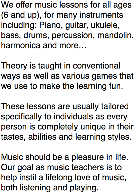 music lessons (image)